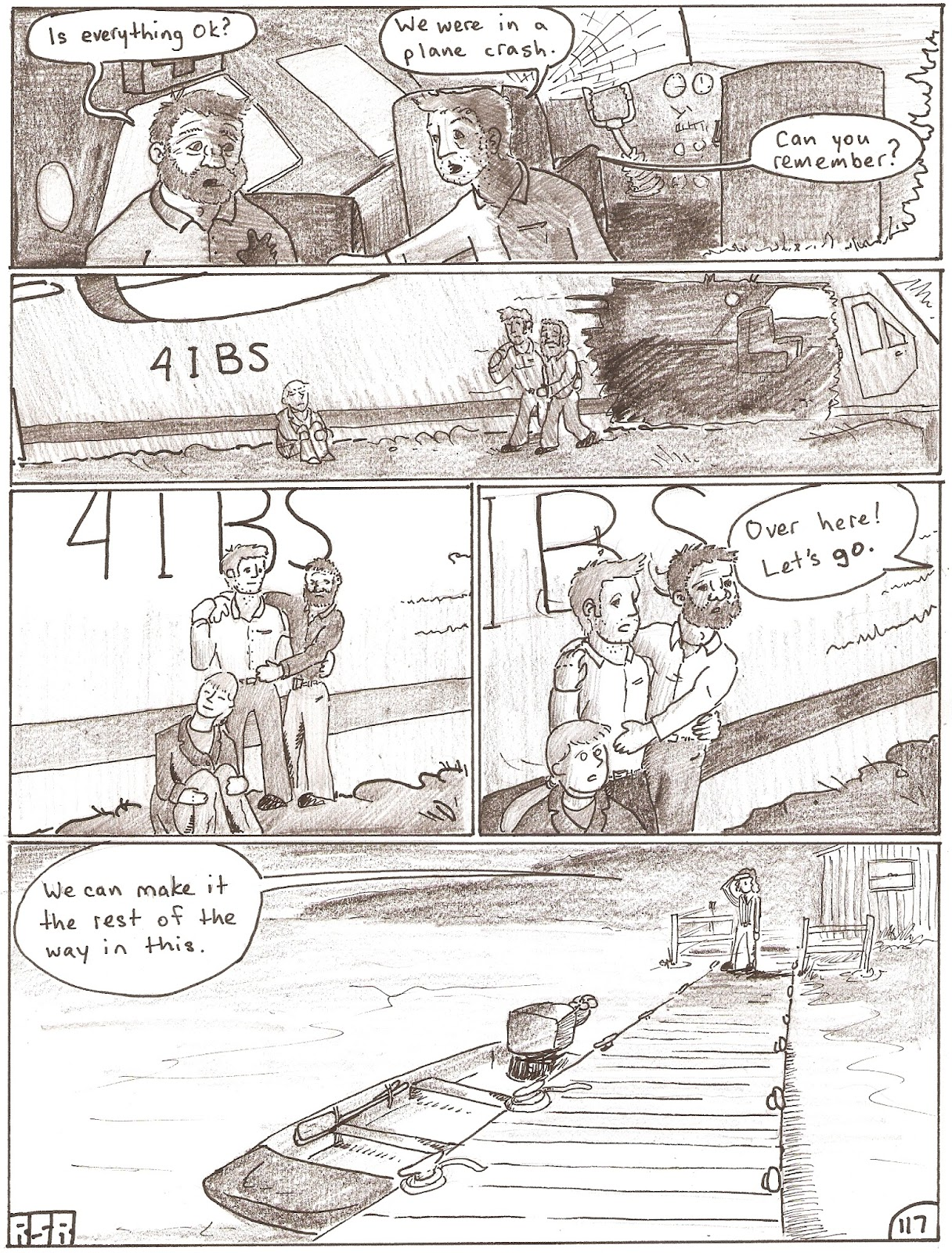 Four if by sea - page 116
