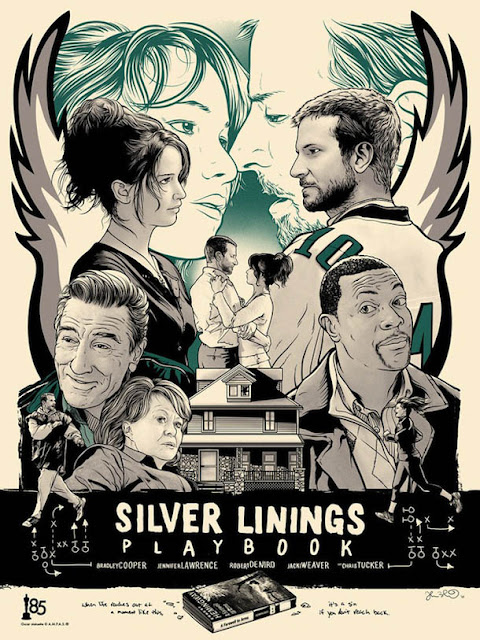 design: Silver Linings Playbook - design de Joshua Budich