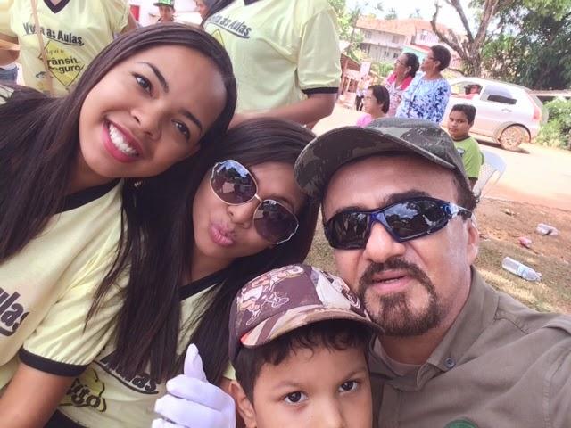 Selfie com o Guarany