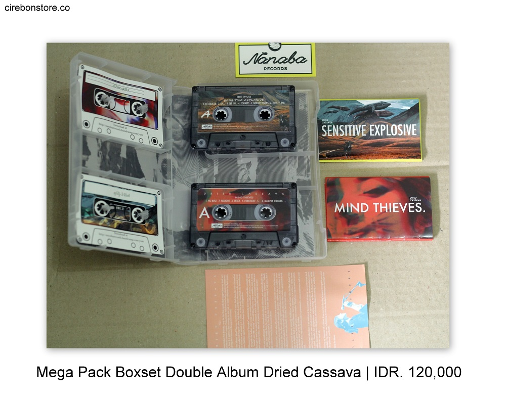 MEGA PACK BOXSET DOUBLE ALBUM DRIED CASSAVA