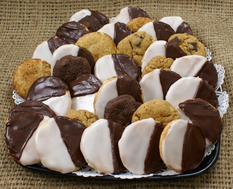 Black & White Cookie Tray