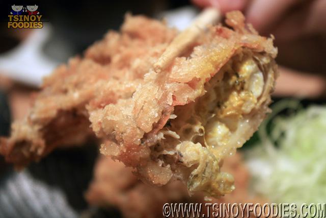 soft shell crab katsu