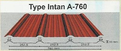 atap intan A-760