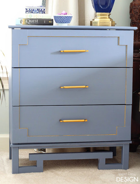 ikea hack, tarva dresser, tarva ikea hack, greek key dresser, #fffc, #fabflippincontest, modern, d lawless hardware, diy