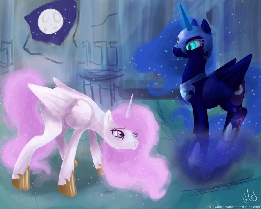 princess celestia vs nightmare - photo #5