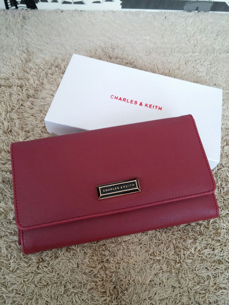 Suye Aisha Online Shop Charles Keith Flip Wallet Ampamp Mini Messenger Click Image For Detail