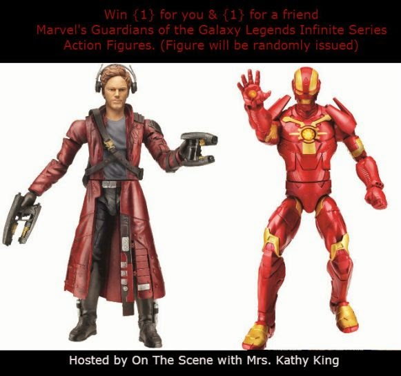 Enter the Marvel's Guardians of the Galaxy Legends Infinite Series Action Figures Giveaway. Ends 8/30.