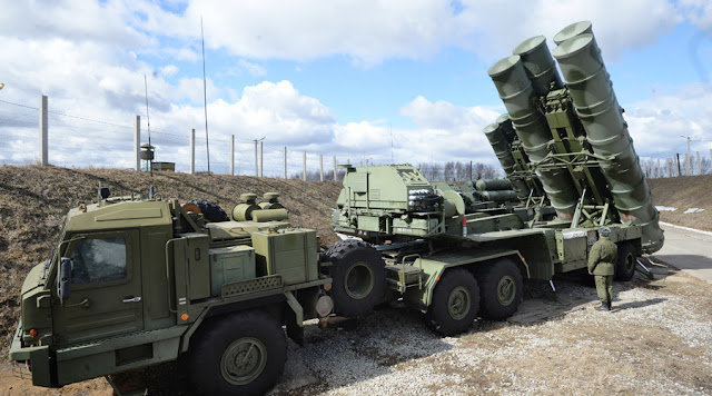 Russia To Deploy S-400 Defense Missile System In Syria