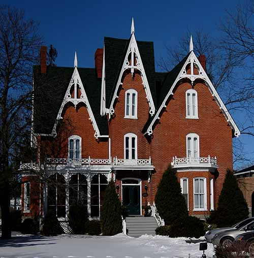 Gothic Style Houses Are Easy To Pick Out And These Are A Few Unique