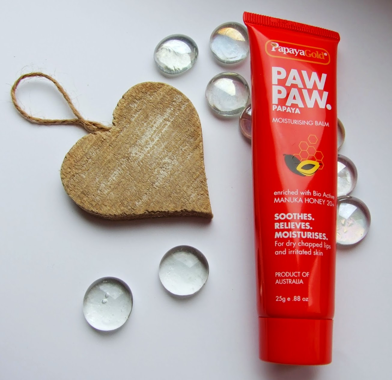 Papaya Gold PAW PAW Papaya Moisturising Balm review blog