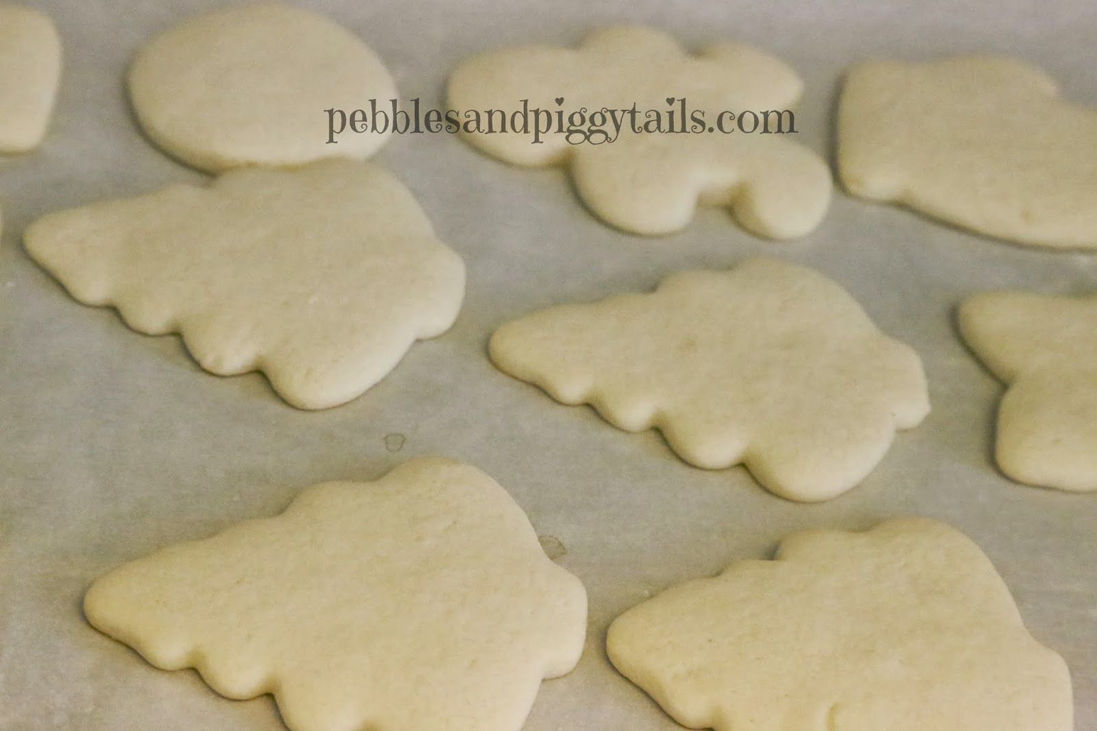 Making Life Blissful: Simple Sugar Cookies
