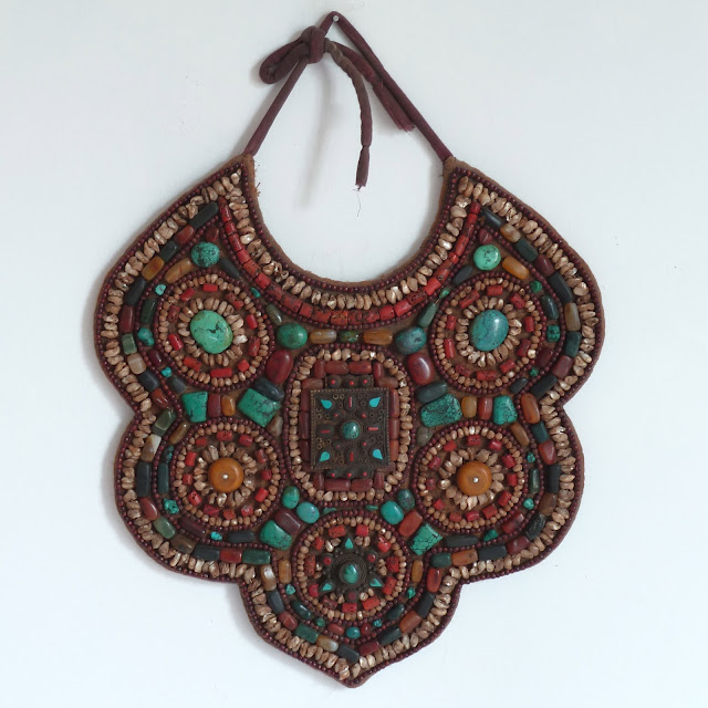 Bib-like breast ornament of Ladakhi women