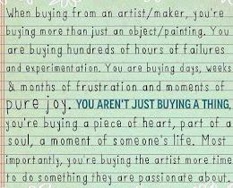 Buy from an Artist!