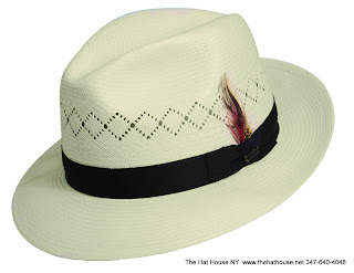 Beautiful Vented Christy's Panama Hat