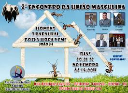 3º ENCONTRO DA UNIÃO MASCULINA