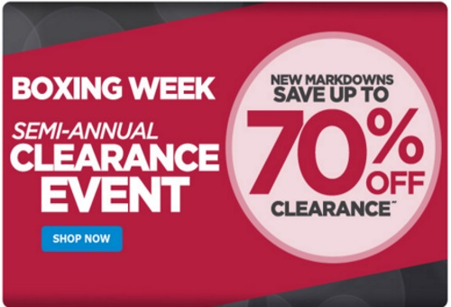 The Shopping Channel Boxing Week Semi-Annual Clearance Event Up To 70% Off