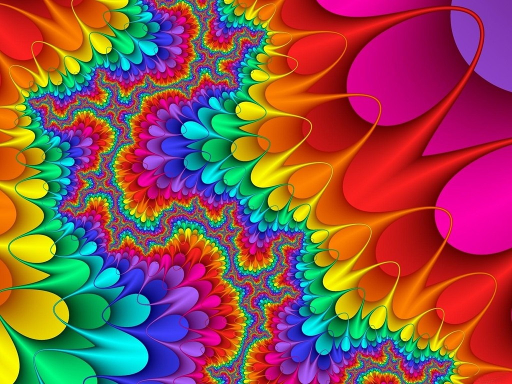 December 2011 Colorful Background Wallpapers