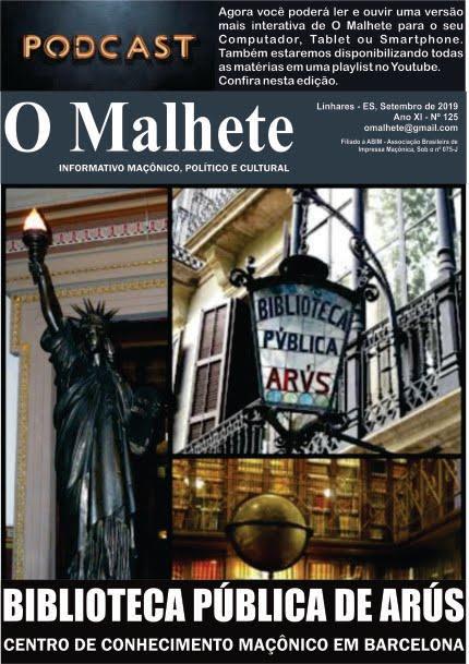 O MALHETE Nº 125 - SETEMBRO  DE 2019