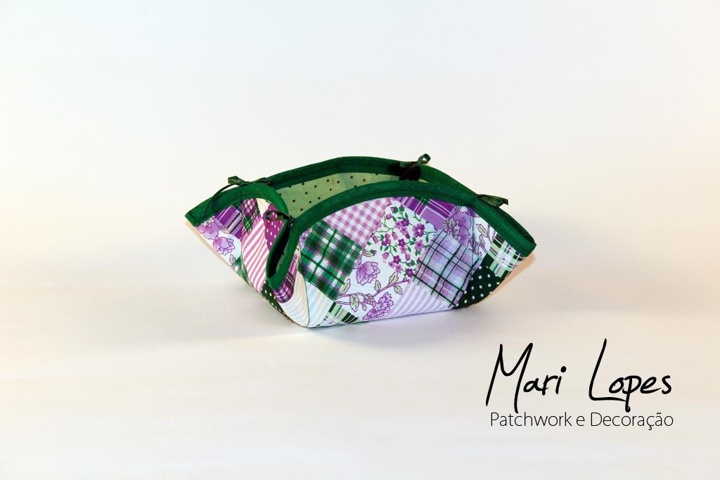 Mari lopes patchwork e decora o cesto para cozinha - Cesto para mantas ...