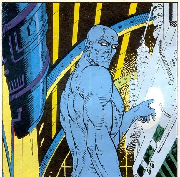 Doctor Manhattan de Watchmen
