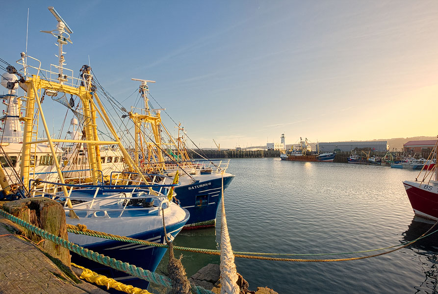 Scarborough fishing port. Fuji X-T1 with 10-24mm lens