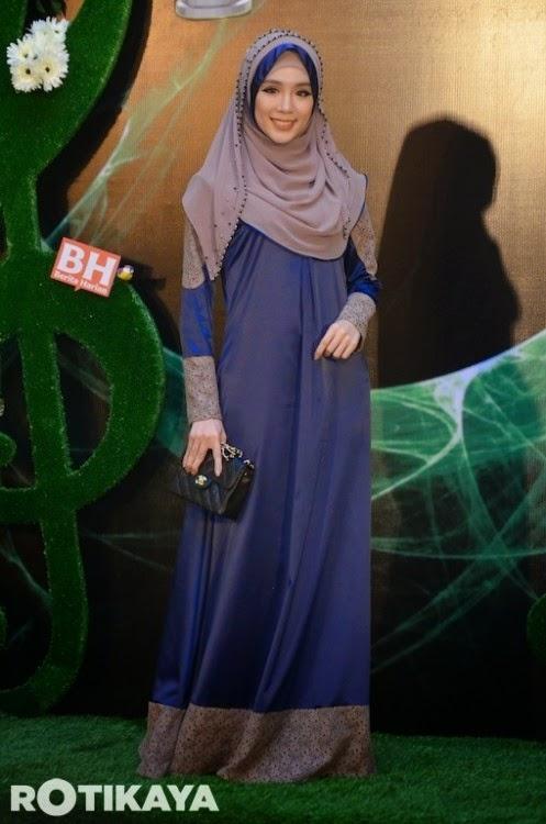 Fesyen Felixia Yeap di ABPBH 2013 mengejutkan ramai artis seksi lain