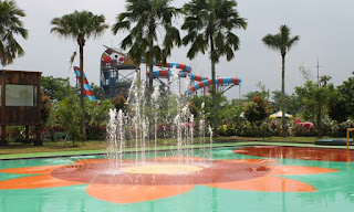 Wahana Futsal Fountain Water Kingdom