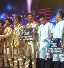 Wam Pemenang Dance Icon Indonesia