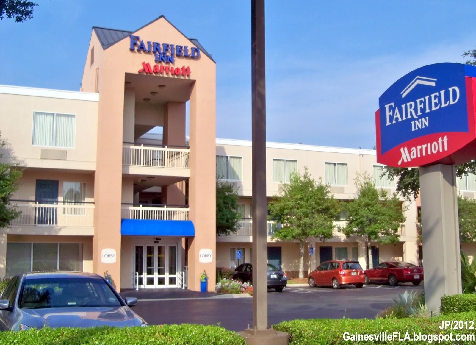 Fairfield Inn Gainesville Florida Marriott Hotel Nw 4th Blvd By Alachua County Fl
