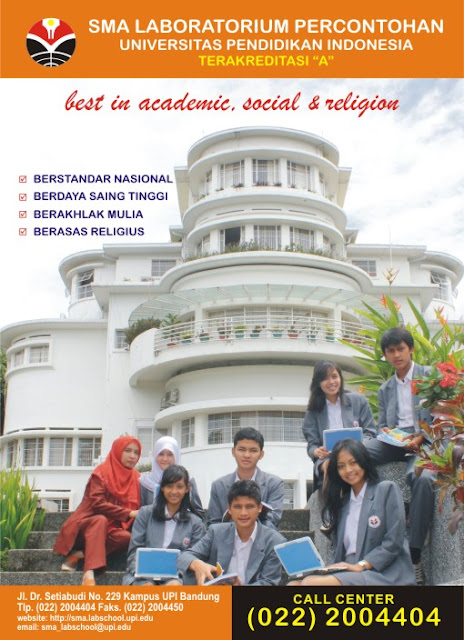 Brosur Penerimaan Siswa Baru SMA Labschool 2012 :