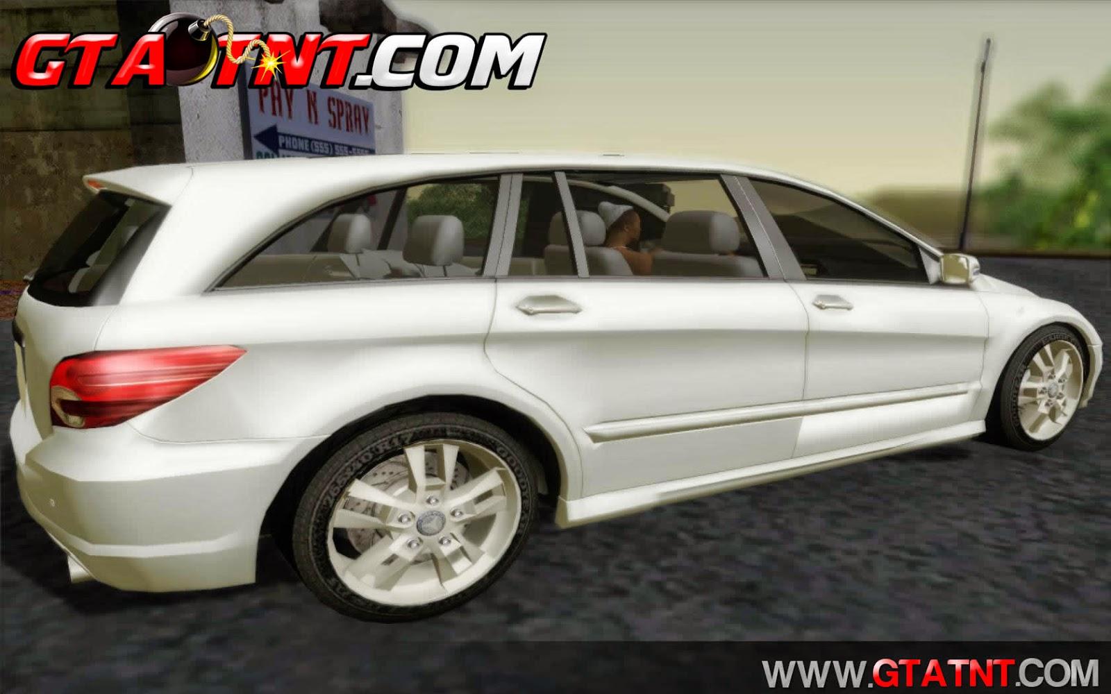 Mercedes-Benz R350 para GTA San Andreas