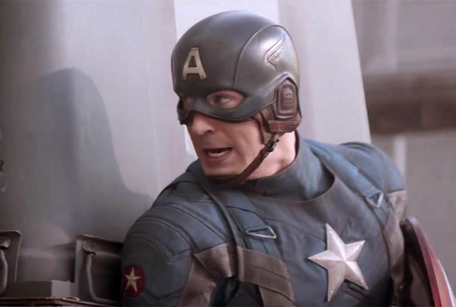 """Cena do filme """"Capitão América 2 - O Soldado Invernal"""""""