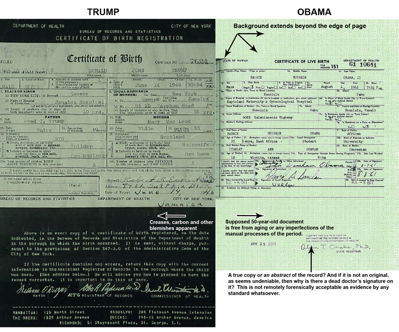 Give Us Liberty The Evidence That Proves Obamas Birth Certificate
