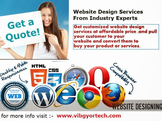 Web Designing Services from Industry Experts: Vibgyortech