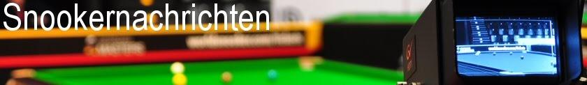 Snookernachrichten