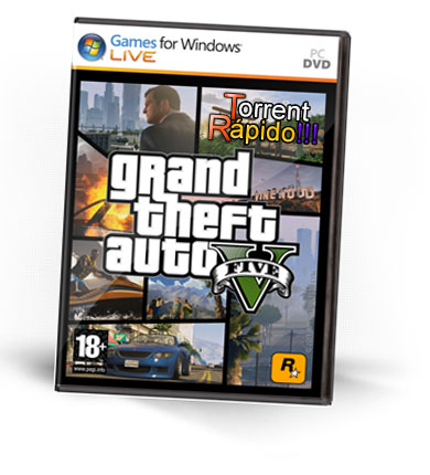 Baixar o Jogo Grand Theft Auto V (GTA 5 Five) Para PC Completo + Crack Torrent