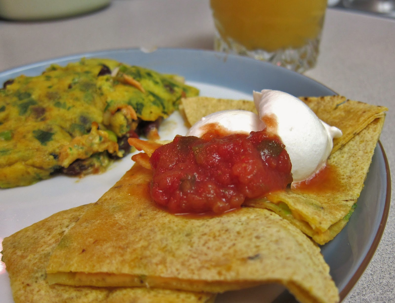 The Vegan Chronicle: Southwestern Omelet