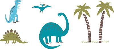 vetores dinossauro vetor