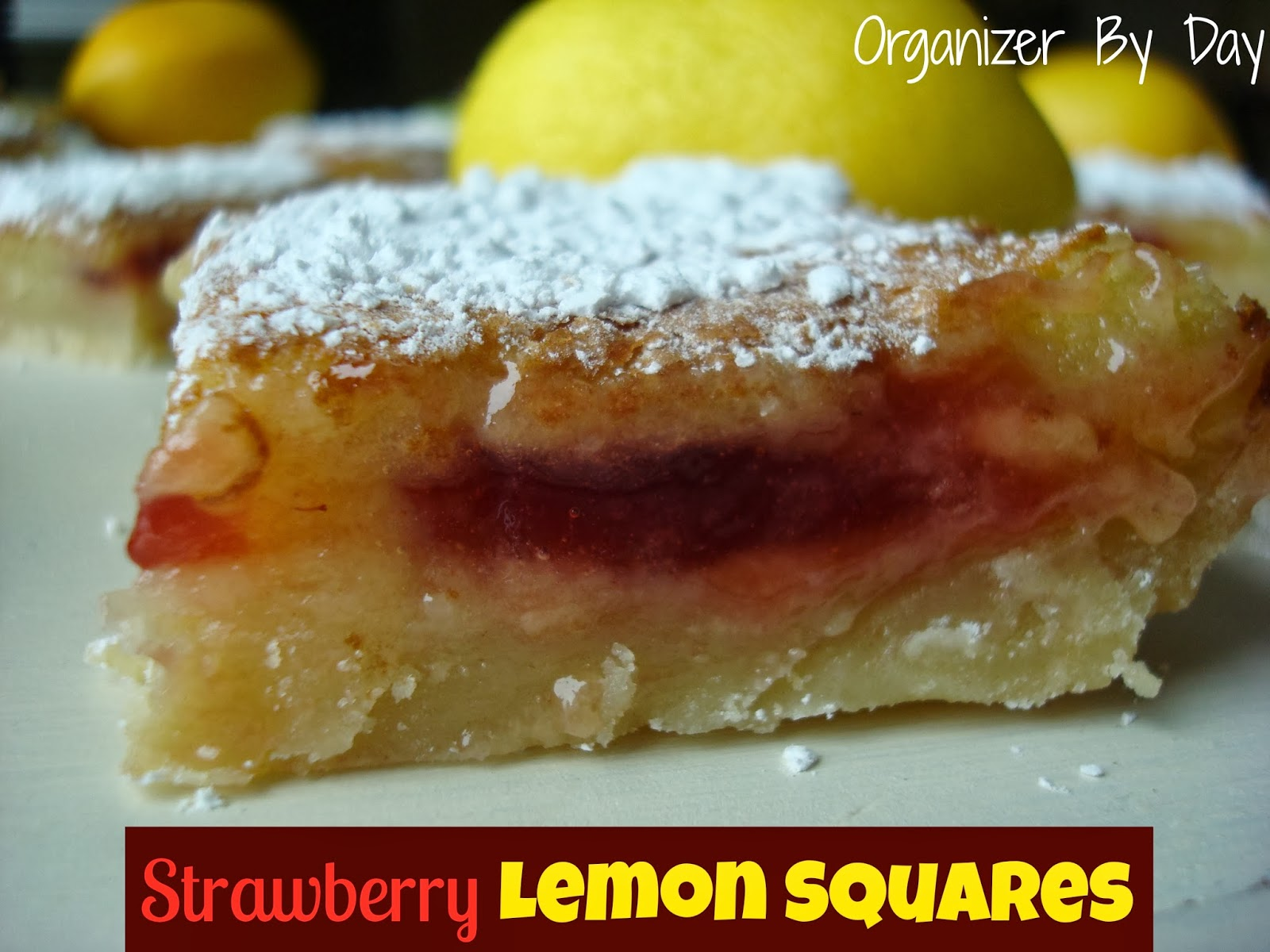 ... Chocolates and Crockpots! Come Check It Out!: Strawberry Lemon Squares