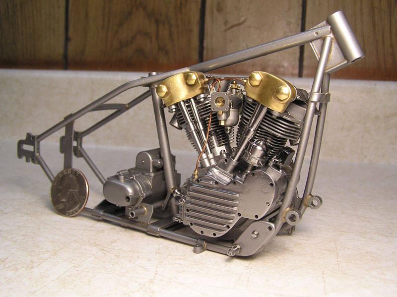 Мотор модели своими руками 597