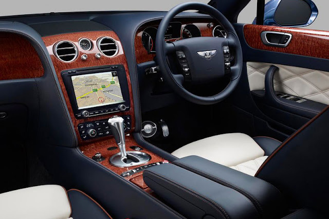 2012 Bentley Continental Flying Spur Interior