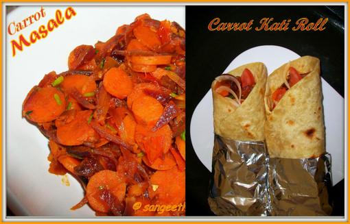 Carrot Frankie/Carrot Kati Roll