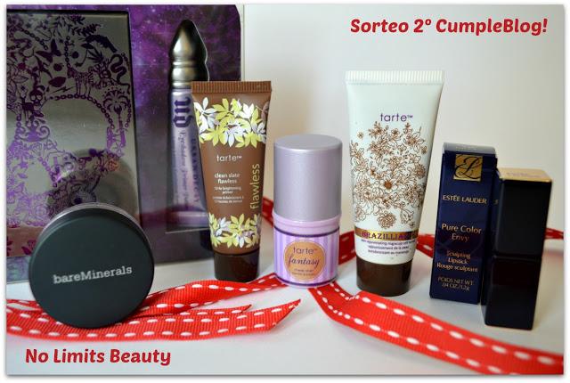 sorteo 2º cumpleblog de no limits beauty!!!