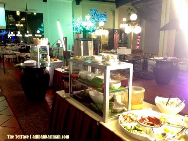 Dinner at The Terrace bersama Nadrah
