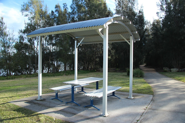 Picnic tables, Kincumber walking/cycle path