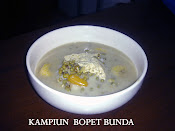 Bubur Kampiun Sumatera Barat