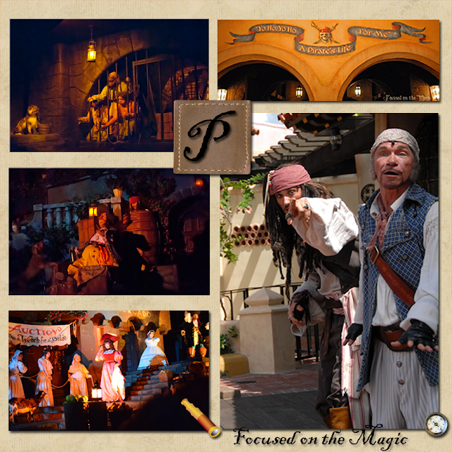 Pirates of the Caribbean is our must do attraction in the Magic Kingdom