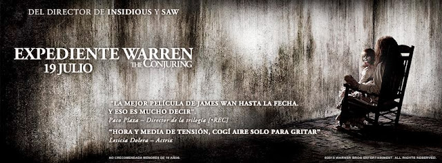 Trailer final español de 'Expediente Warren: The Conjuring'