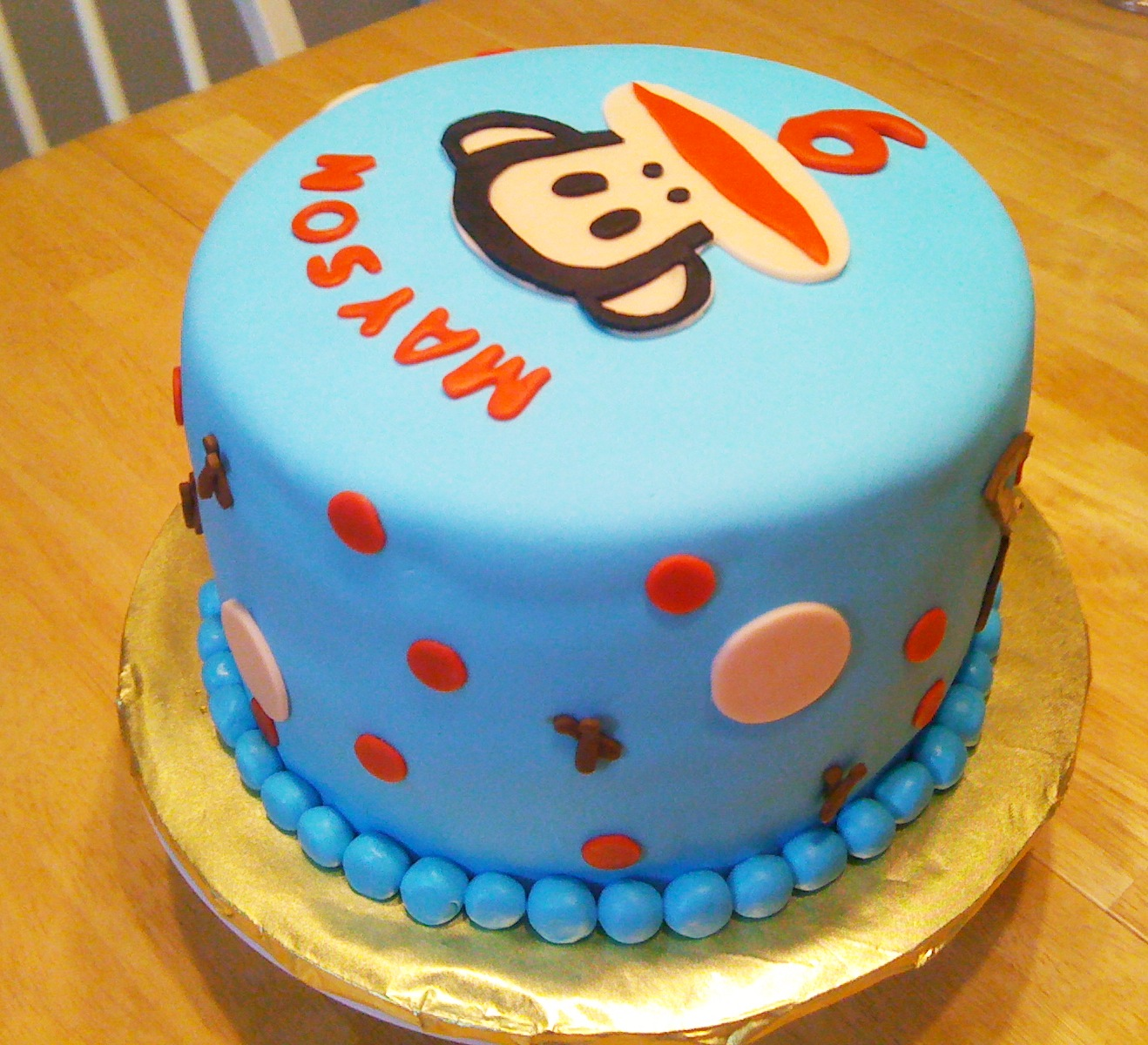 Aggies Do It Better: Paul Frank Monkey Cake