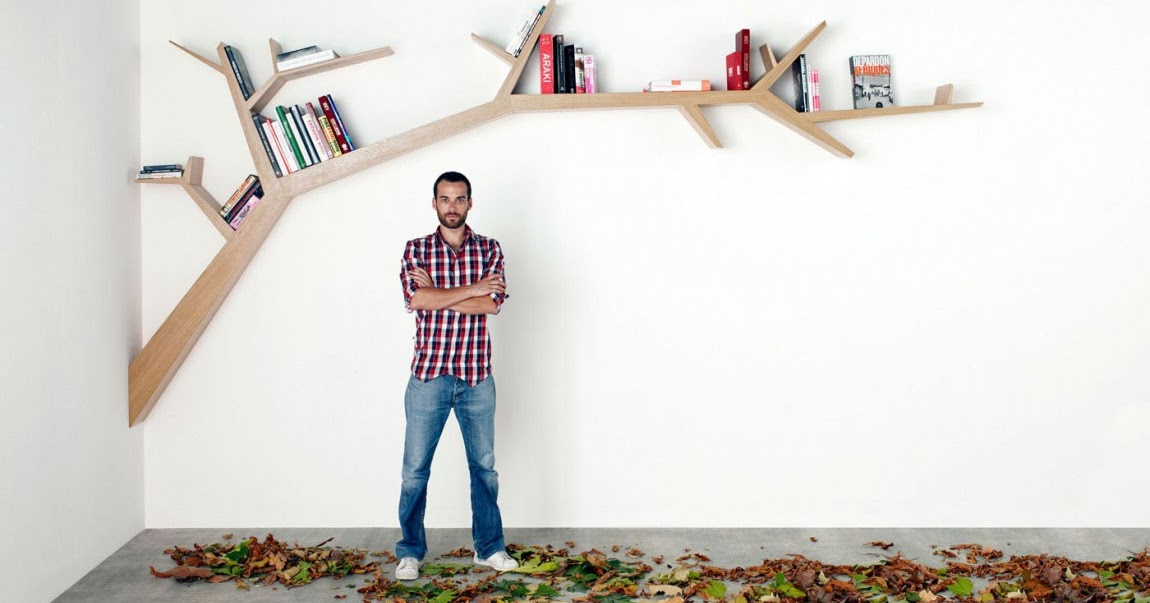 Albero come libreria di Design - bookcase tree | ARC ART blog by ...